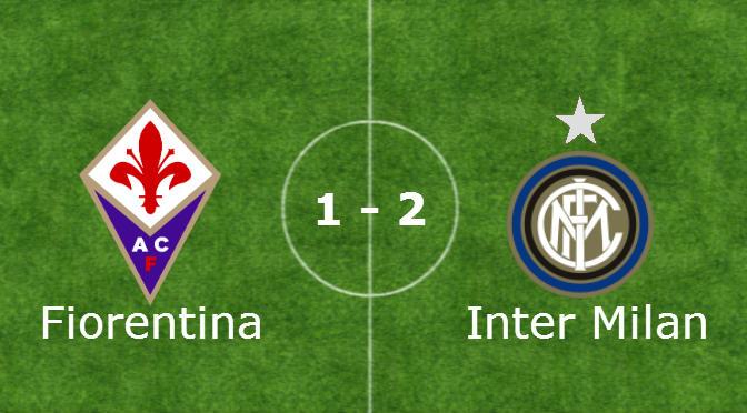Nuova Vittoria dell'Inter contro la Fiorentina